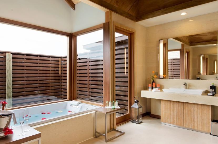 Resort Maldive Hideaway Beach Resort & Spa beach ocean villa with pool