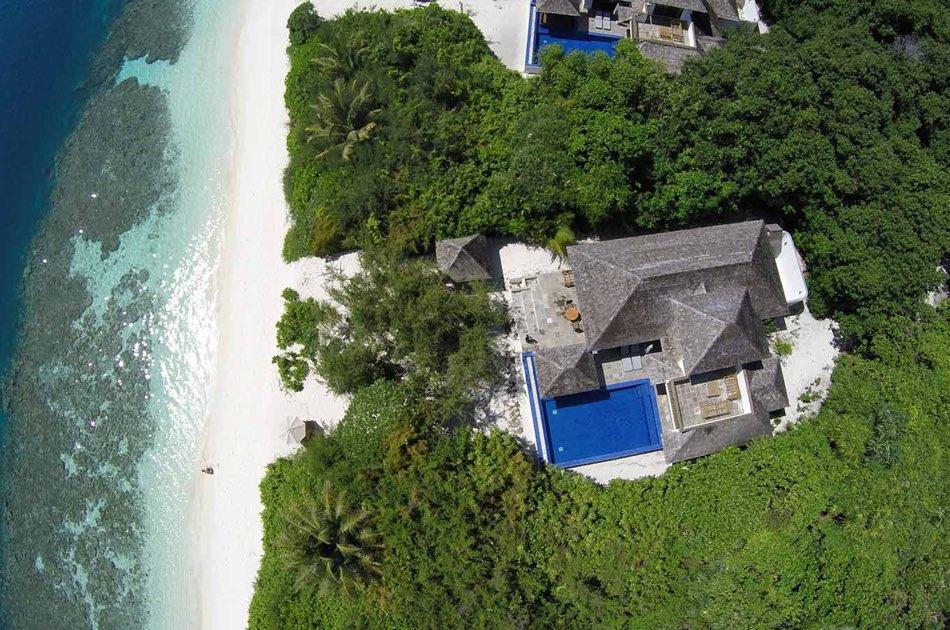 Resort Maldive Hideaway Beach Resort & Spa beach family villa with pool