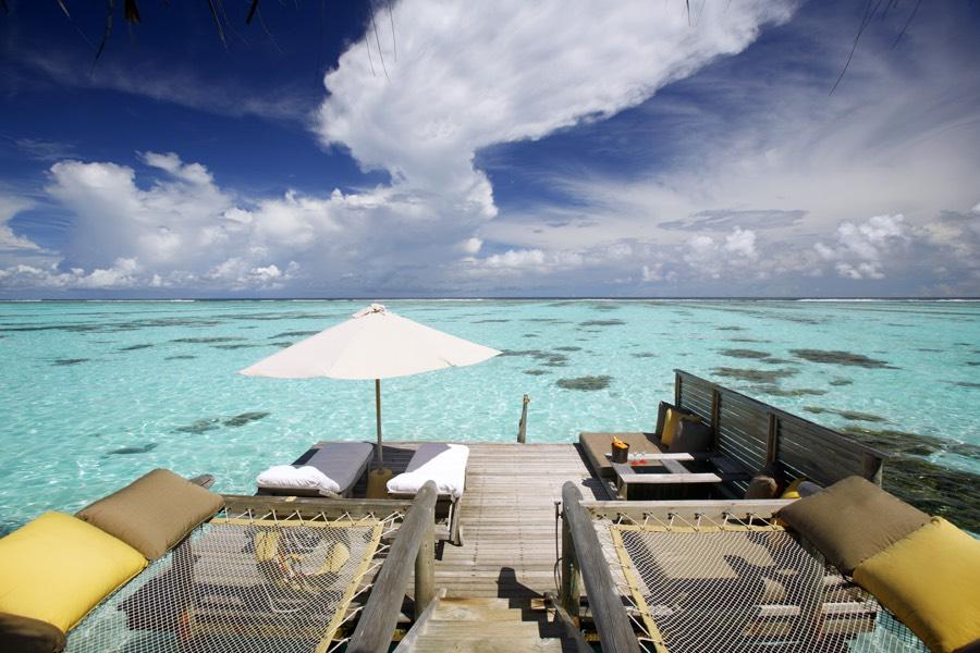 Resort Maldive Gili Lankanfushi lagoon villa