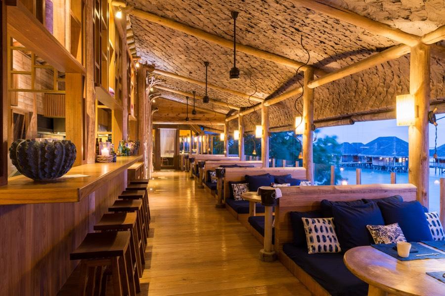 Resort Maldive Gili Lankanfushi ristorante By The Sea
