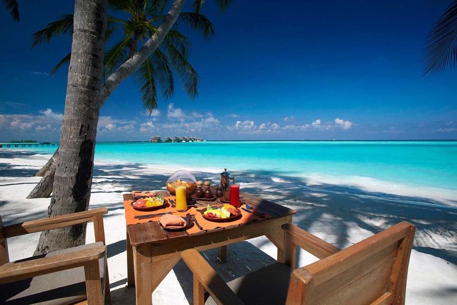 Resort Maldive Gili Lankanfushi main restaurant