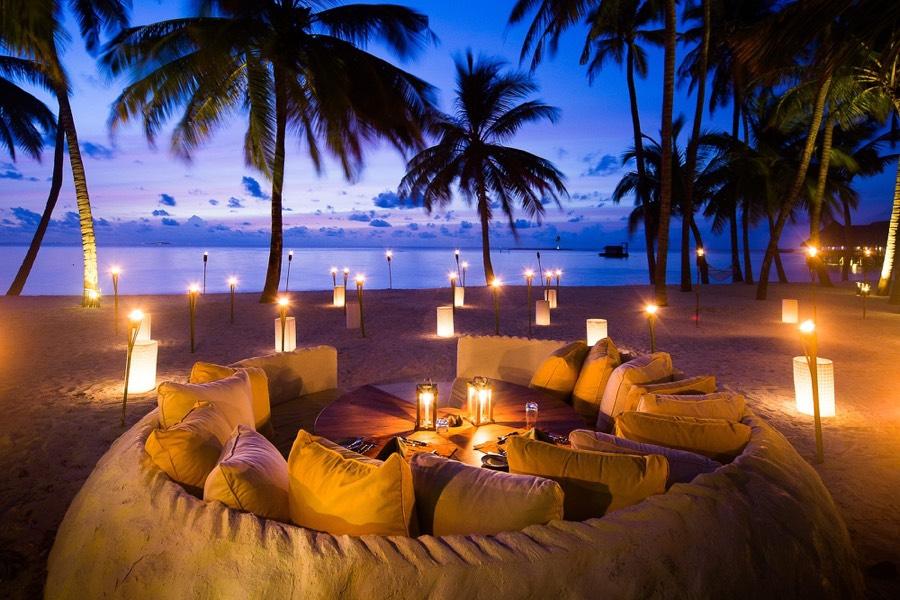 Resort Maldive Gili Lankanfushi private dinner