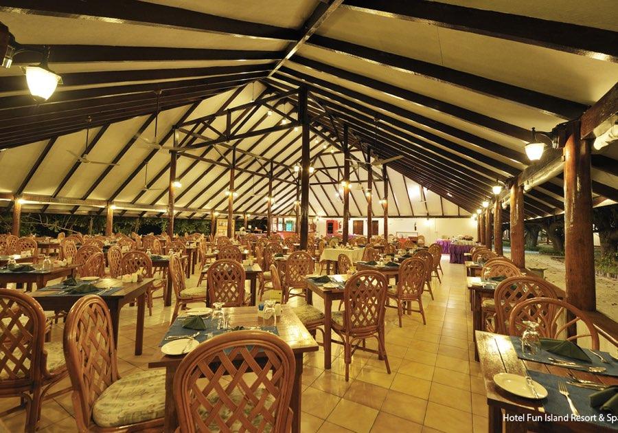 Resort Maldive Fun Island Resort ristorante