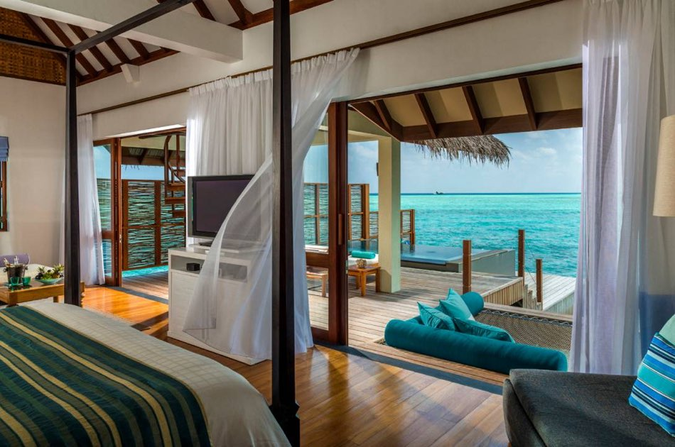 Resort Maldive Four Season Maldives at Landaa Giravaaru 2 bedroom family water villa with pool