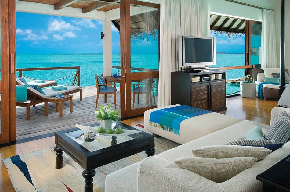 Resort Maldive Four Season Maldives at Landaa Giravaaru 2 bedroom family water villa