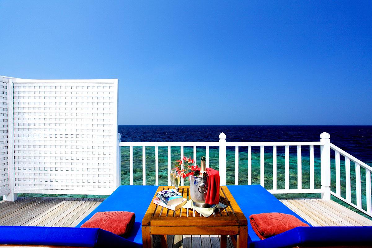Centara Grand Island Resort Maldive deluxe water villa