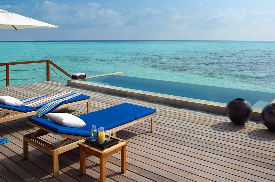 Resort Maldive Four Season Maldives at Landaa Giravaaru 2 bedroom water suite