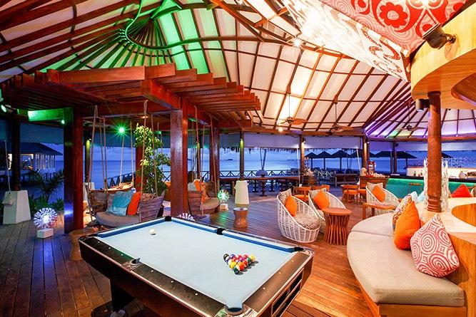 Centara Grand Island Resort Maldive Coral Bar