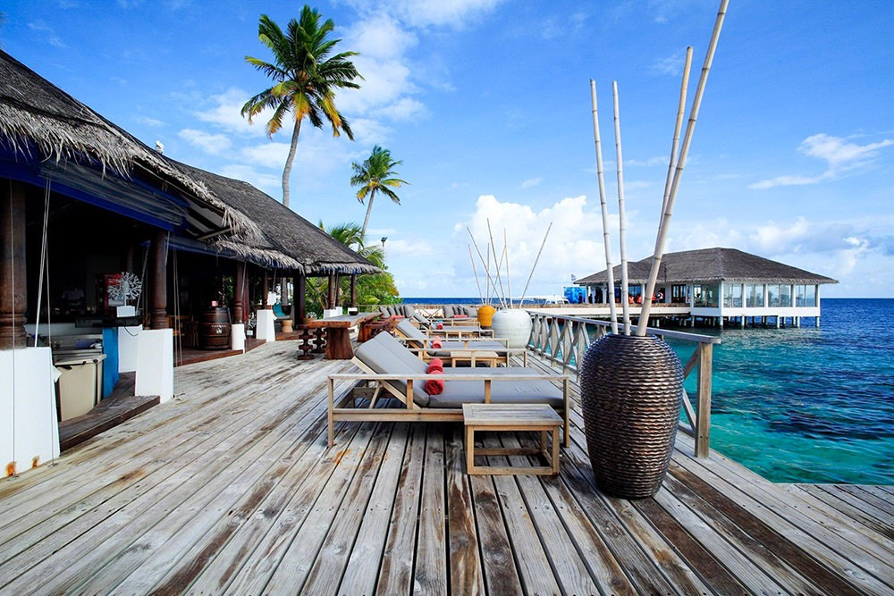 Centara Grand Island Resort Maldive Coral Bar