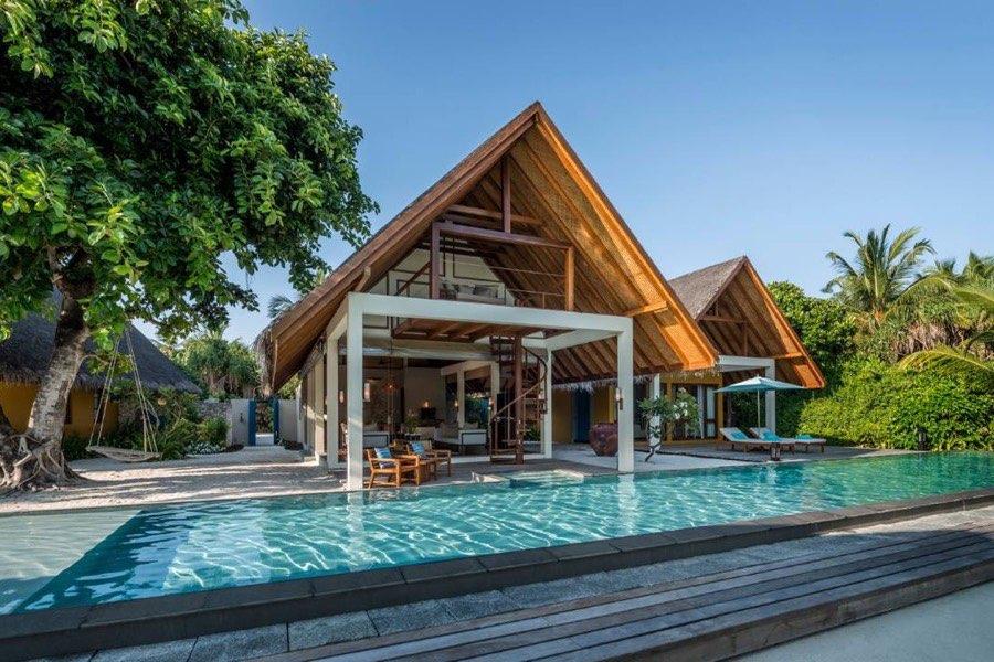 Resort Maldive Four Season Resort Kuda Huraa beach villa