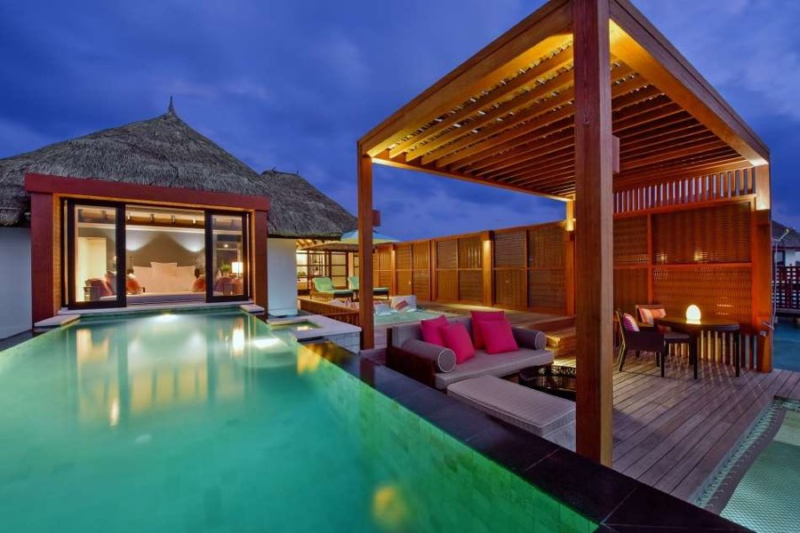 Resort Maldive Four Season Resort Kuda Huraa water villa