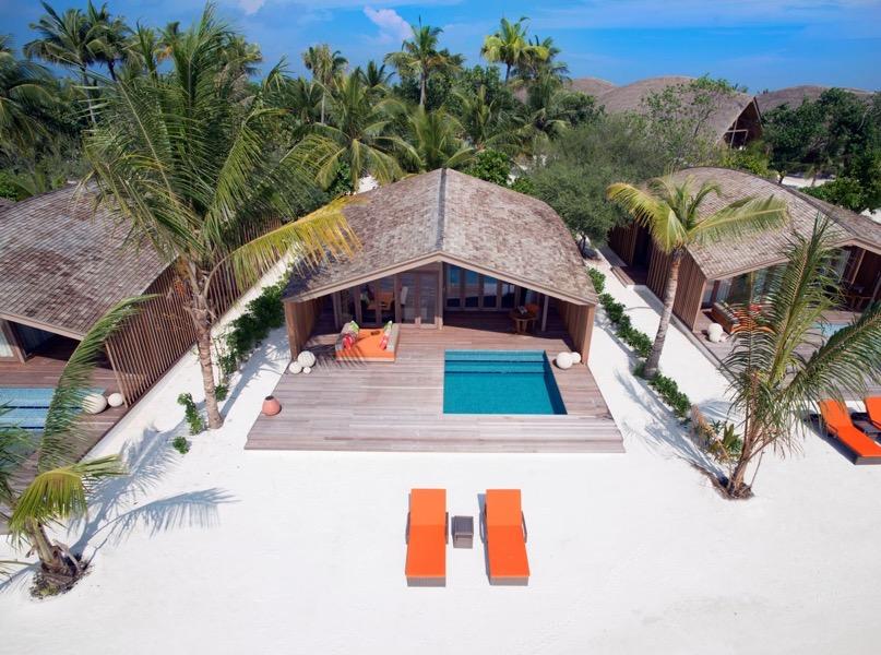 Club Med Finolhu Villas Maldive beach villa