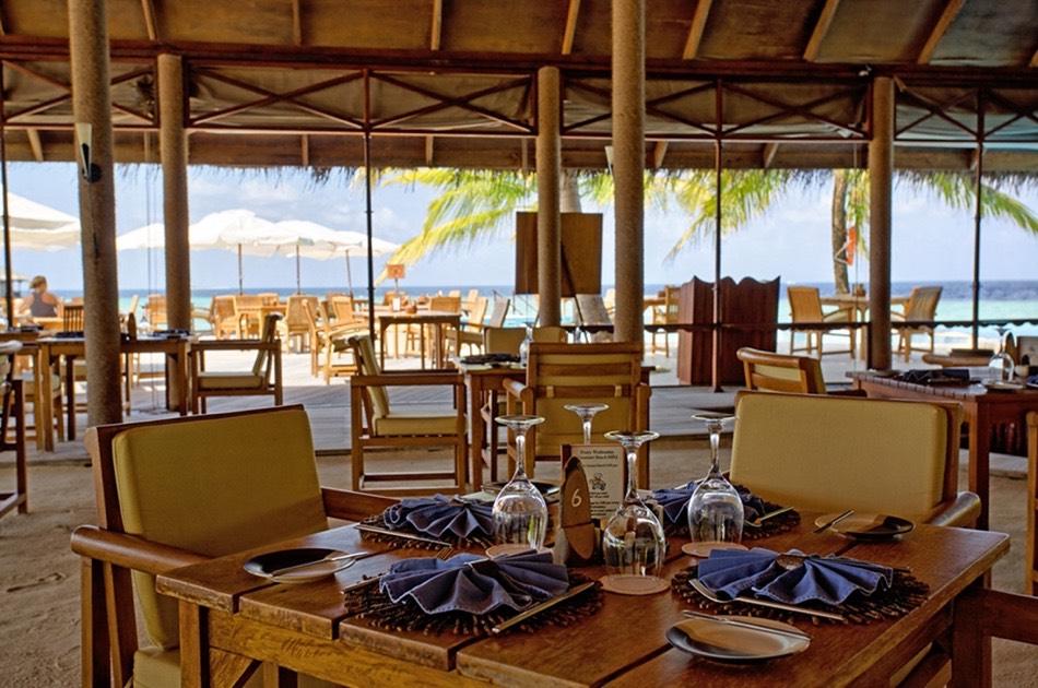 Resort Maldive Filitheyo Island Resort ristorante