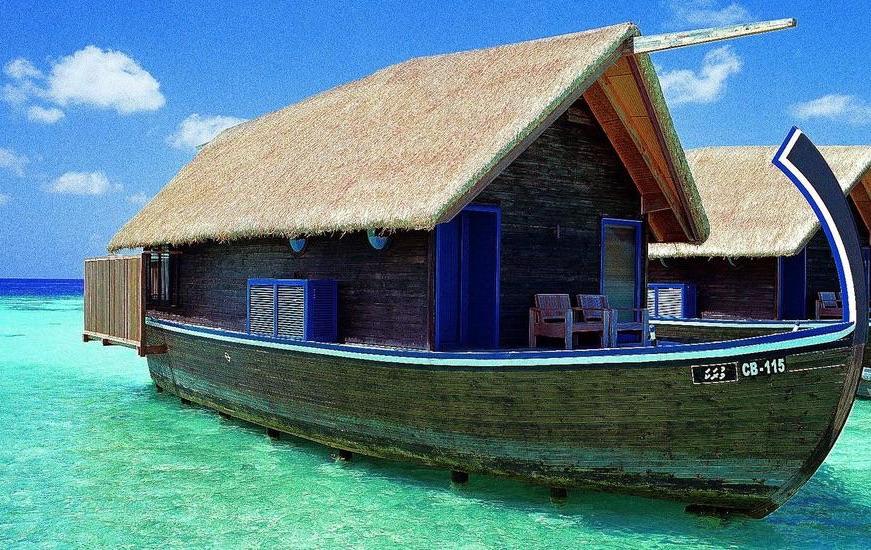 Cocoa Island resort Maldive Dhoni suite