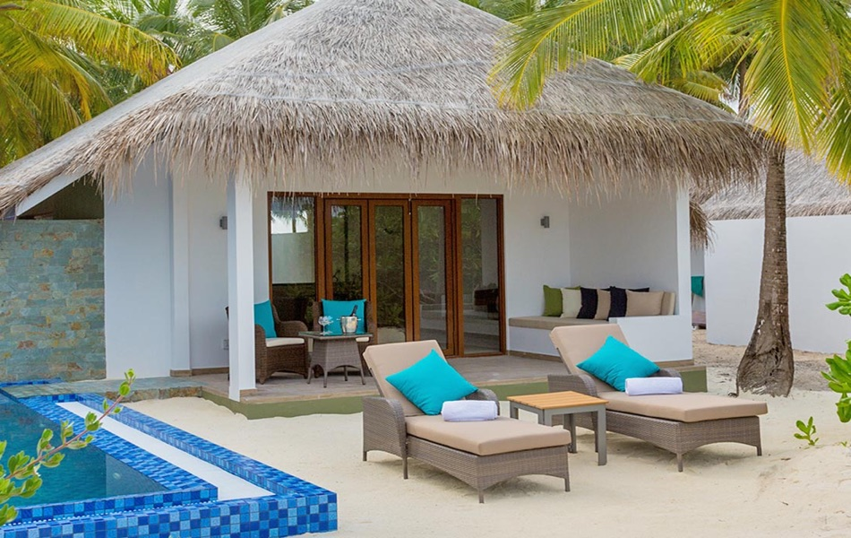 Resort Maldive Cocoon Maldive beach suite with pool