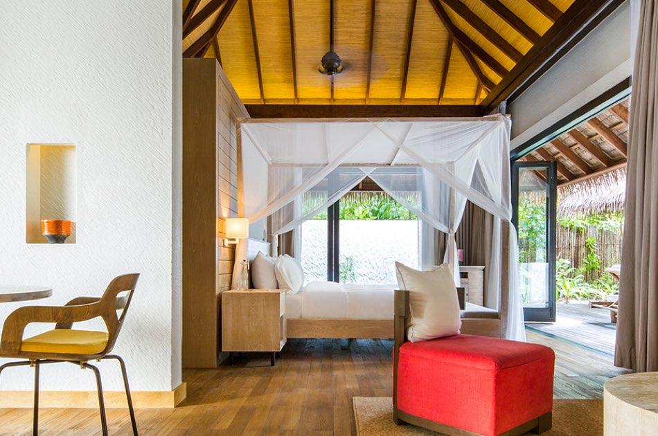 Resort Maldive Como Maalifushi beach suite