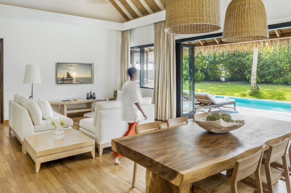 Resort Maldive Como Maalifushi Malifuhi beach villa