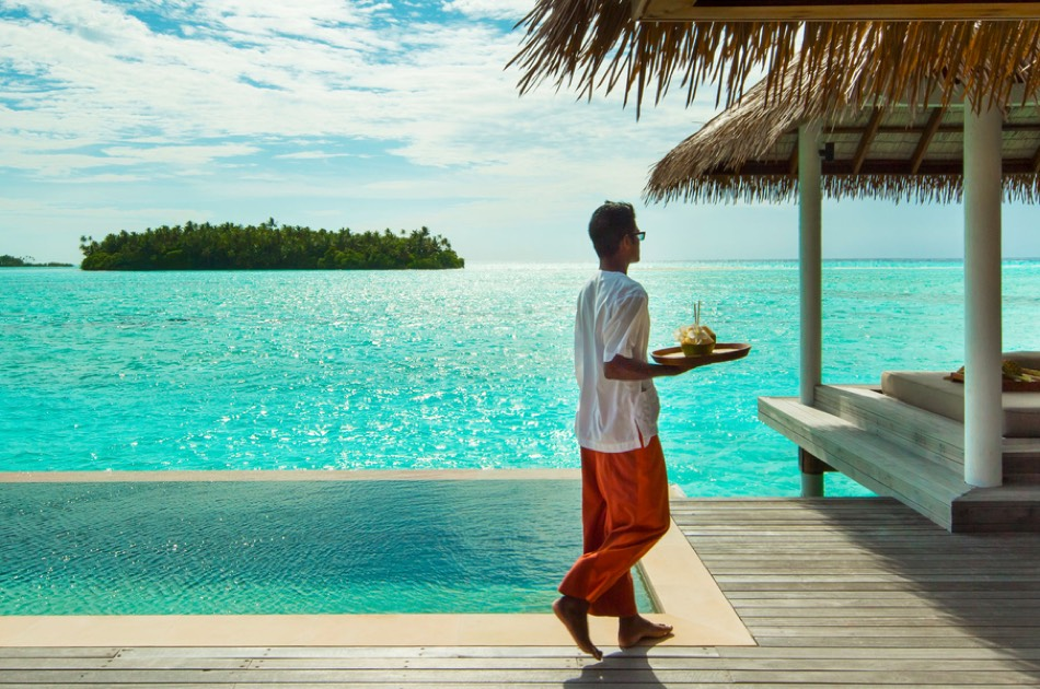 Resort Maldive Como Maalifushi water villa