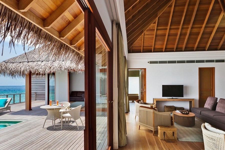 Resort Maldive Dusit Thani two bedroom ocean pavilions