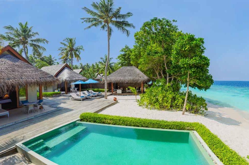 Resort Maldive Dusit Thani two bedroom family beach villa