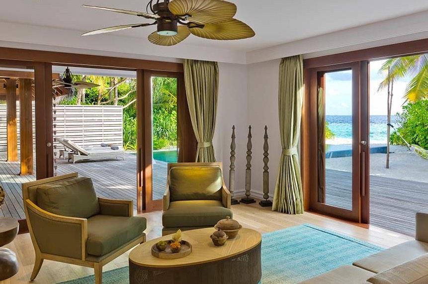 Resort Maldive Dusit Thani beach residence