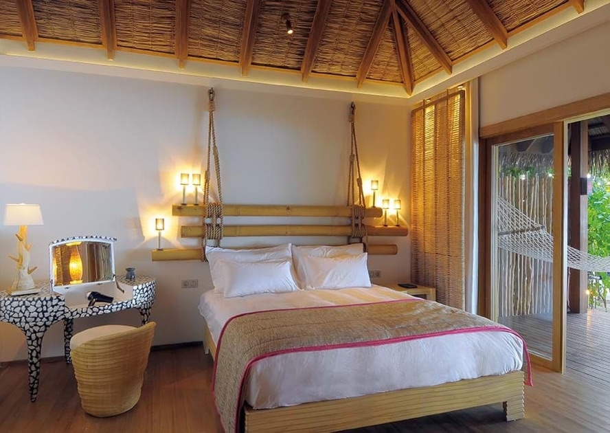 Resort Maldive Constance Moofushi beach villa