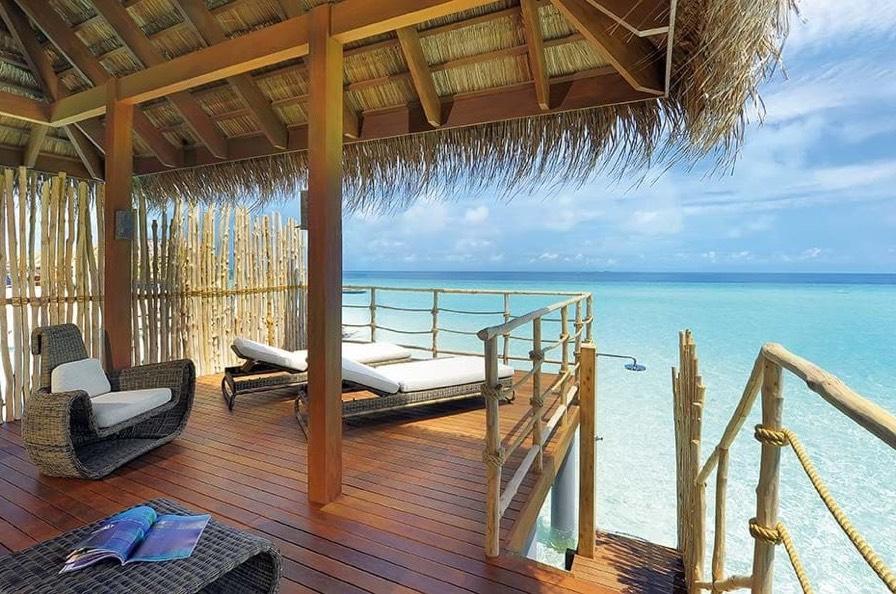 Resort Maldive Constance Moofushi senior water villa
