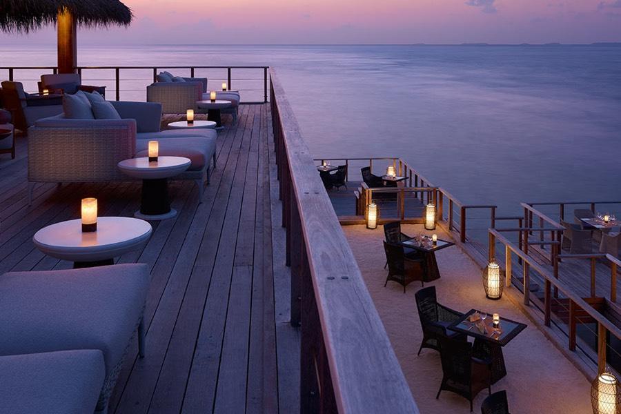 Resort Maldive Dusit Thani beach ristorante Sala