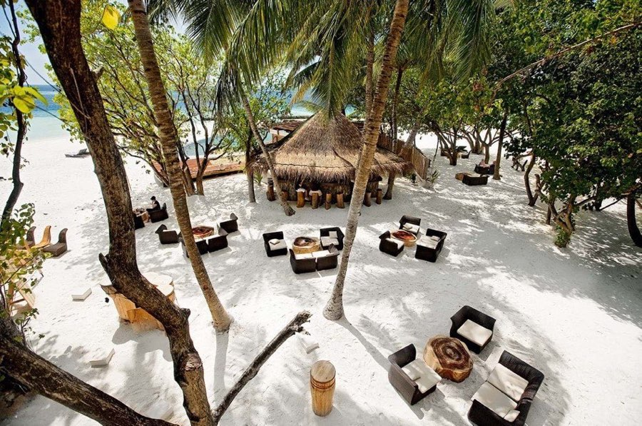 Resort Maldive Constance Moofushi cocktail bar Totem Bar