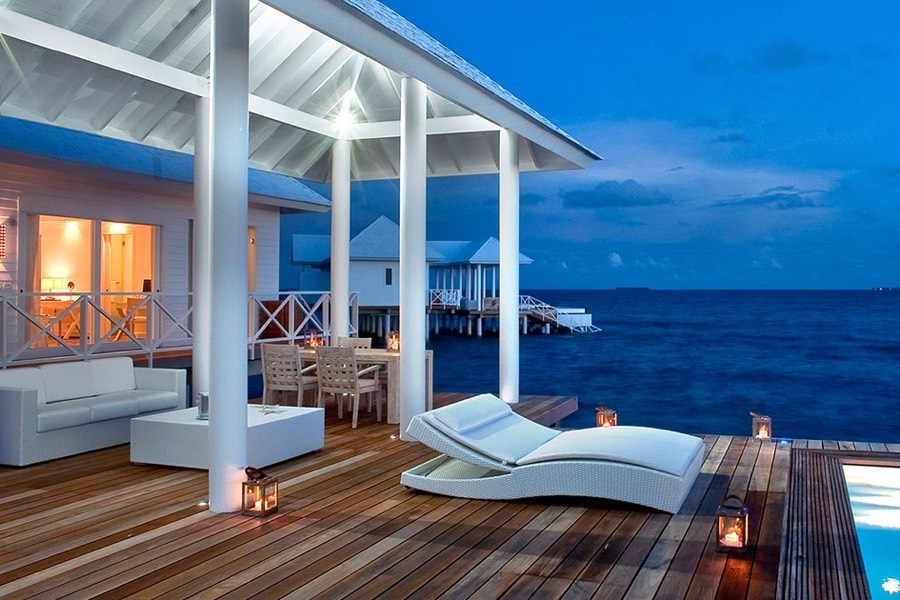 Resort Maldive Diamonds Thudufushi two bedroom water villa