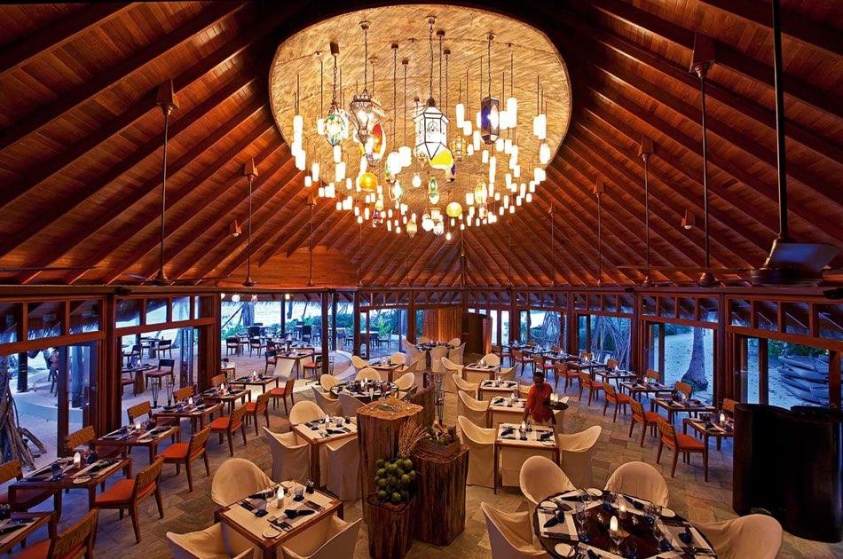 Ristorante Maldive Constance Halaveli ristorante Jahaza