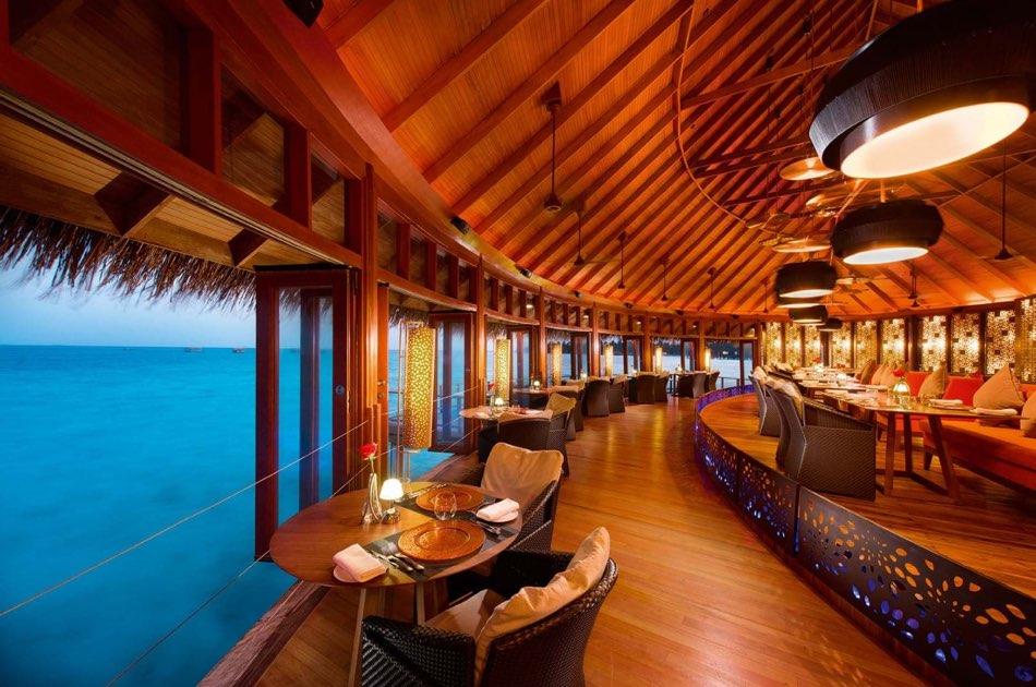 Ristorante Maldive Constance Halaveli ristorante Jing
