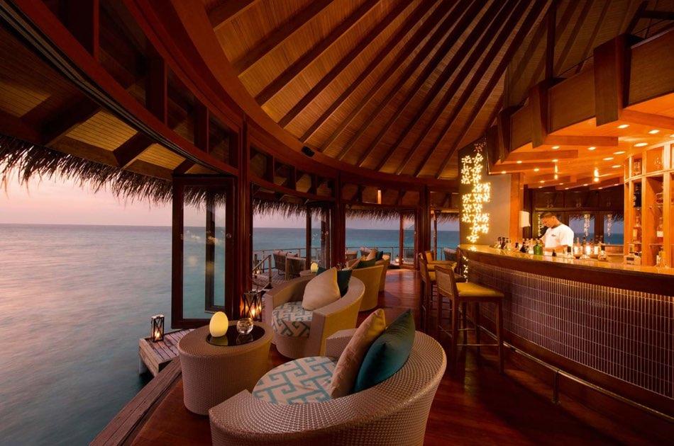 Ristorante Maldive Constance Halaveli bar Jing
