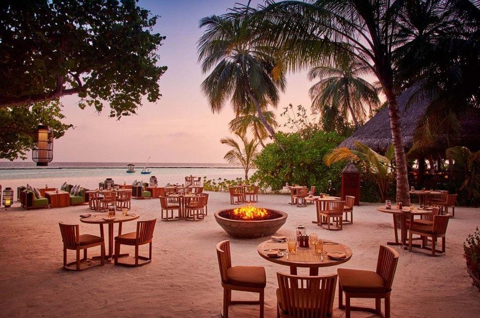 Ristorante Maldive Constance Halaveli ristorante Meeru