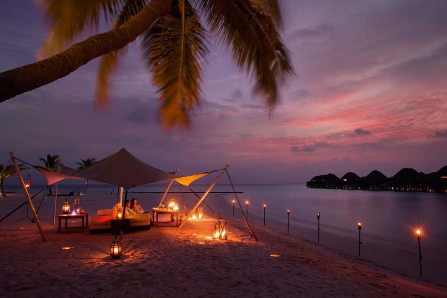 Ristorante Maldive Constance Halaveli cena privata