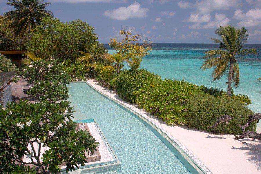 Coco Privè Kuda Hithi resort Maldive Palm residence