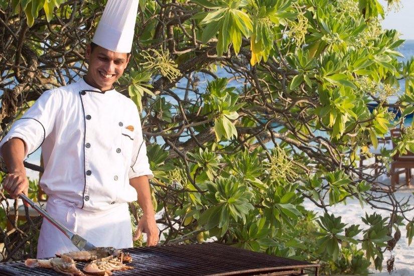 Coco Palm Bodu Hithi resort Maldive villa grill experience
