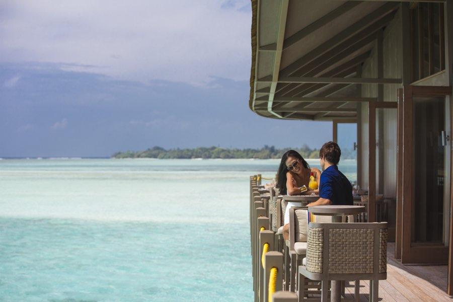 Club Med Finolhu Villas Maldive ristorante Motu