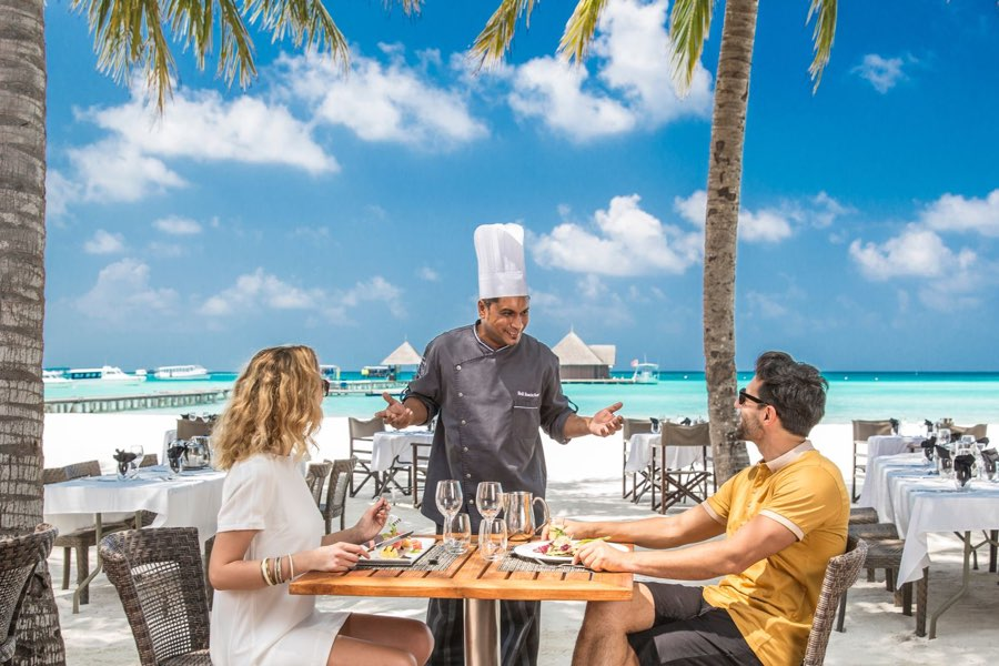 Club Med Finolhu Villas Maldive ristorante Velhi