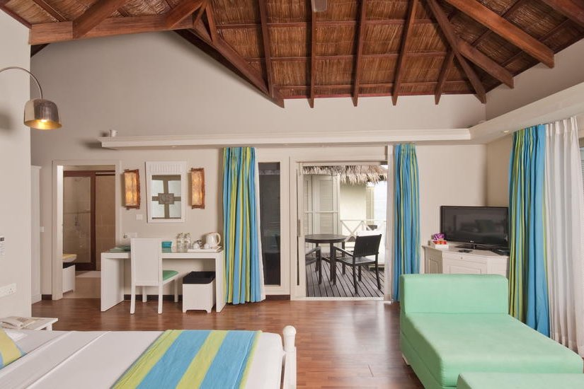 Cinnamon Dhonveli resort Maldive water bungalow