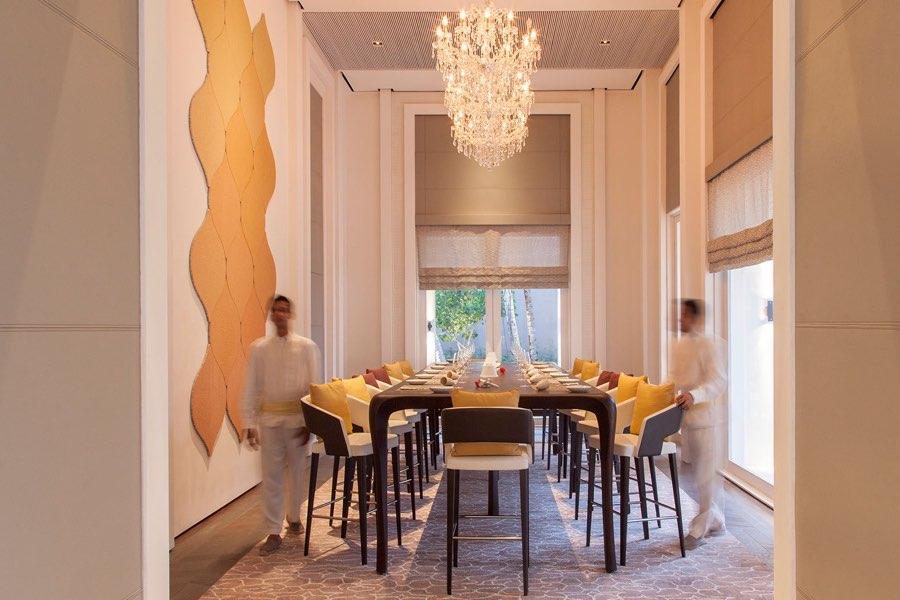 Cheval Blanc Randheli resort Maldive ristorante La Table De Partage
