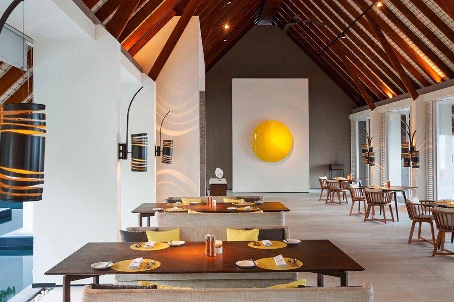 Cheval Blanc Randheli resort Maldive ristorante The White