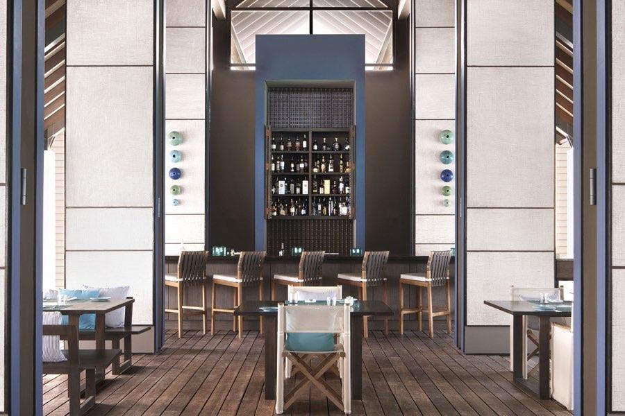 Cheval Blanc Randheli resort Maldive ristorante The Deelani