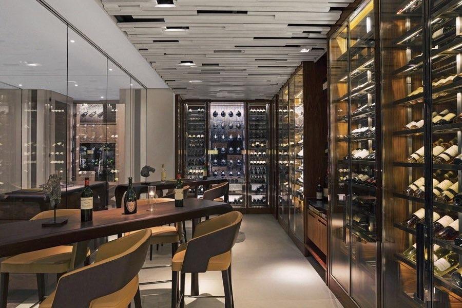 Cheval Blanc Randheli resort Maldive wine bar Le 1947