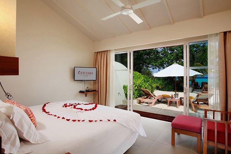 Centara Ras Fushi Resort Maldive beach villa