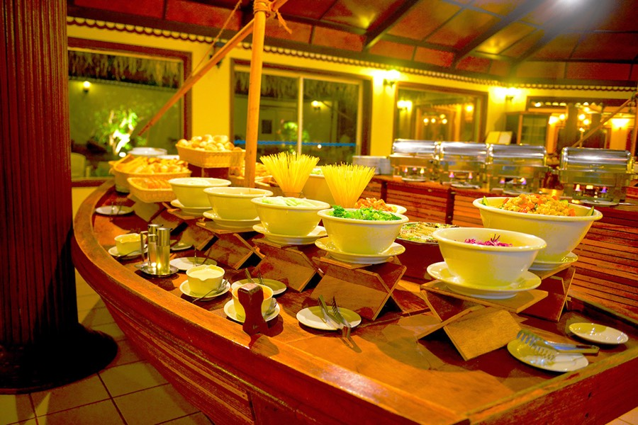 Biyadhoo Island Resort Maldive ristorante Palm