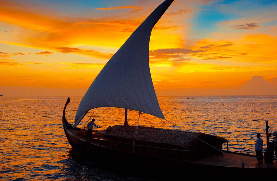 Baros resort Maldive nooma dinner experience