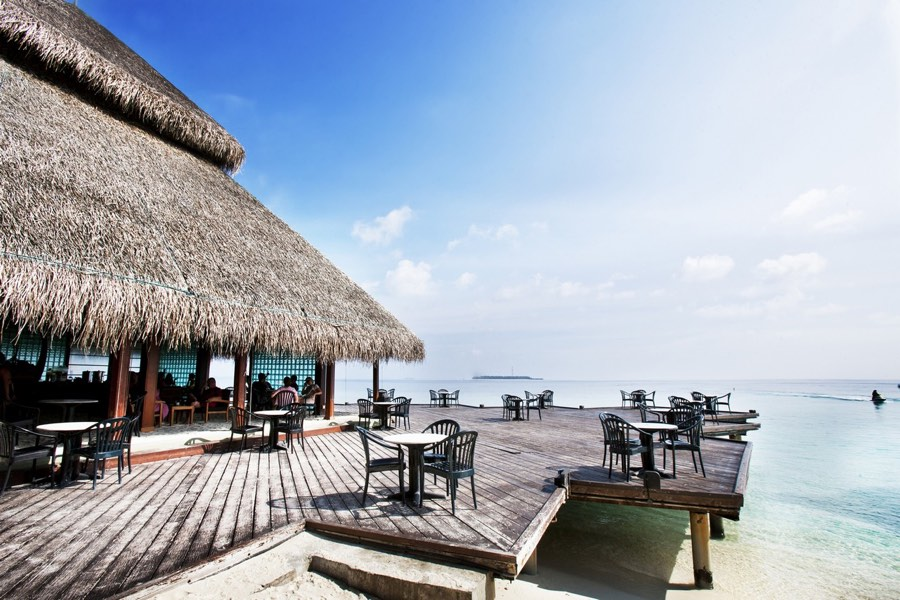 Adaaran Club Rannalhi Resort Maldive coctail bar