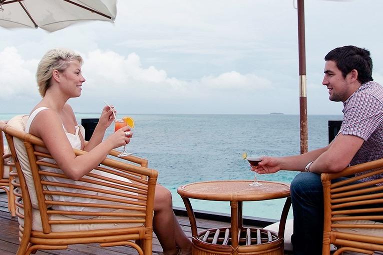 Adaaran Prestige Vadoo resort Maldive dhoni bar