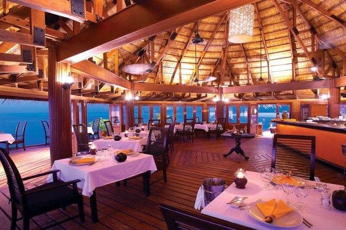Angsana Velavaru resort Maldive Funa cucina internazionale e di pesce